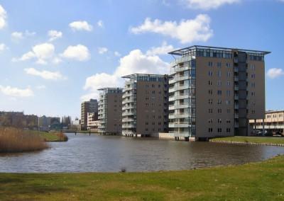 Woontorens Parkweg-Oost Schiedam